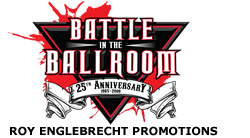 Battle in the Ballroom Boxing - Fist Series Mixed Martial Arts Logo Print